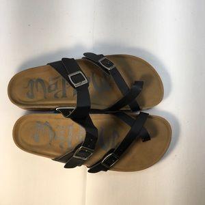 Mad Love Black Sandals